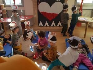Kızılay Haftası sebebi ile çocuklarımız okulumuzda kızılay draması yaptılar….