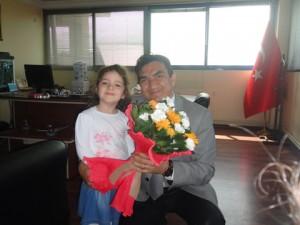 Polis Gününü Kutladık Çiğli Emniyet Müdürlüğünü ziyaret ettik..