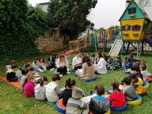 Limonda bugün çocuklarımızla kitap okuma etkinliği yaptık. Kitapları sevmek kitap okuma alışkanlığı kazanmak için kitapların dünyasında dolaştık