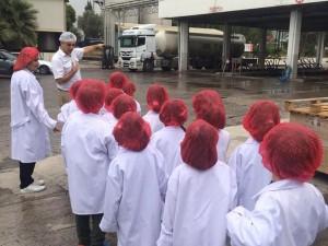 Çalışkan Arılar, süt projesi dahilinde Pınar Süt Fabrikasına gezi yaptılar… Sütün yolculuğunu izlediler ve sütün, peynirin tadına bakarak süt ürünlerinin beslenmemizde ki önemini bir kez daha yaşayarak öğrendiler…